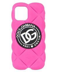 Dolce & Gabbana I Phone 12 Cover - Roze