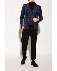 Vivienne Westwood Checked blazer Azul
