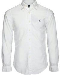 Ralph Lauren La chemise - Blanc