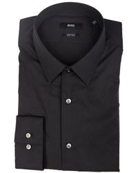 BOSS by Hugo Boss Eliott Shirt - Zwart