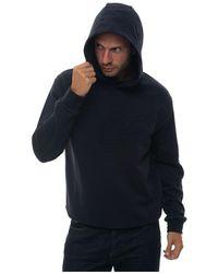 Emporio Armani Sweatshirt With Hood - Blauw