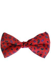 Etro Patterned Bow Tie - Rood