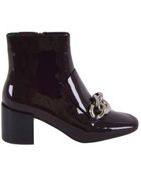 Jeffrey Campbell Women's Ankle Boots With Chain - Rood