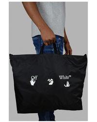 Off-White c/o Virgil Abloh Tote bag Negro