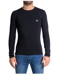 Emporio Armani Long Sleeve T-shirt - Zwart