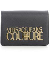 Versace Jeans Couture - Mini Square Crossbody Bag W/chain Strap - Lyst