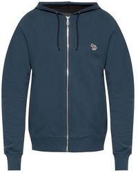 PS by Paul Smith Hoodie with logo - Azul