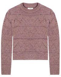 Étoile Isabel Marant Cut-out sweater - Rosa