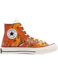 Converse Snake Chuck 70 High TOP 171014C Sneakers - Arancione