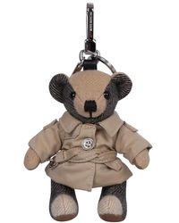 Burberry Thomas Bear Charm - Naturel