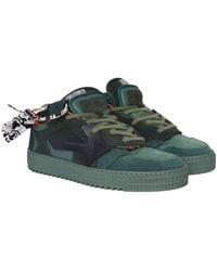 Off-White c/o Virgil Abloh Off Court Sneakers - Groen