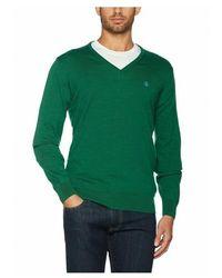El Ganso Jersey Marca Pico para hombres con coderas - Verde