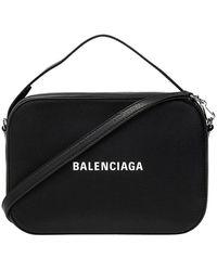 Balenciaga Alledaagse Kleine 'camera' Tas - Zwart