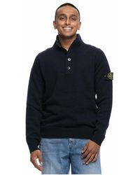 Stone Island Sweater 7515540a3 V0020 - Blauw