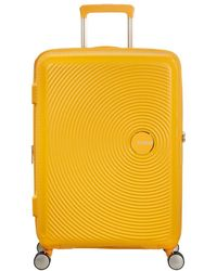 American Tourister Spinner Soundbox - Geel