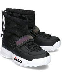 Fila Disruptor Neve Mid Sneakers - Nero