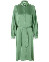 Samsøe & Samsøe Nika Shirt Dress 13096 - Groen