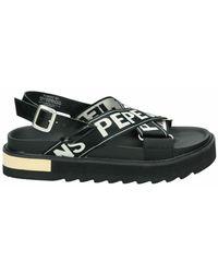 Pepe Jeans Sandalias - Zwart