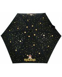 Moschino Ombrello retraibile Toy Constellation compact O22Mo15 8323 - Noir