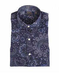 Polo Ralph Lauren Shirt - Blauw