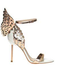 Sophia Webster Evangeline Stiletto Sandals - Geel
