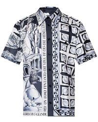 Dolce & Gabbana - Shirt Met Korte Mouwen - Lyst