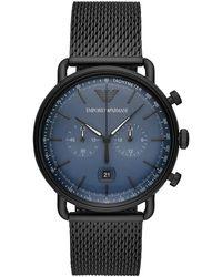 Emporio Armani Ar11201watch - Zwart