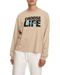 WOOD WOOD Janis Long Sleeve - Naturel