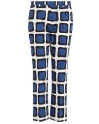 Max Mara Fiuggi Trousers - Bleu