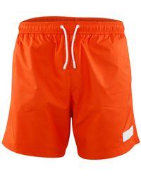 Dondup Xe021 Y00429u Xxx Swimming Trunks - Oranje