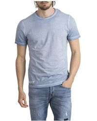 Dondup T-shirt - Blauw
