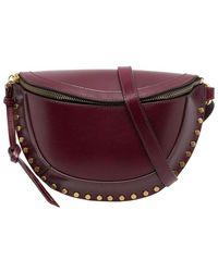 Isabel Marant Skano Leather Belt Bag - Rood