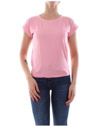 Bomboogie Tw5870 T Jsod T Shirt AND Tank Women Rose - Rosa