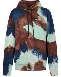 Mauna Kea Printed hoodie - Marron