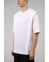 Juun.J T-shirt con stampa - Bianco