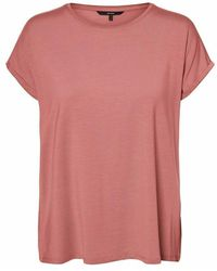 Vero Moda Camiseta Básica Aware - Roze