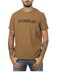Dondup T-shirt - Bruin