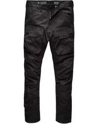 G-Star RAW 3d Straight Tapered Cargo Pants - Zwart