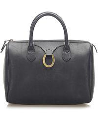 Dior Oblique Boston Bag - Blauw