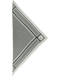 Lala Berlin Scarf Triangle Trinity Classic - Grijs