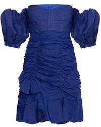 Isabel Marant - Short Dress With Open Shoulders - Lyst