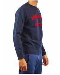 Mc2 Saint Barth Round neck sweatshirt - sledding - Bleu