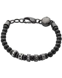 DIESEL Time Frames Dx0961 Bracelet Men Steel - Grau