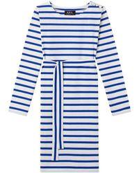 A.P.C. Dress - Blauw