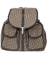 Dior Double Pocket Backpack - Marron