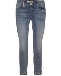 Mos Mosh Sumner Ida Troks Jeans - Blauw