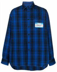 Vetements Shirt - Blauw