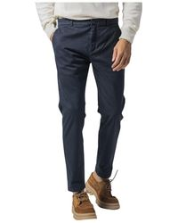 Department 5 Pantalone Slim - Blu