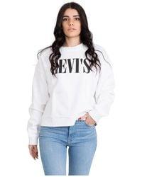 Levi's Graphic Diana Crew Sweatshirt - Wit