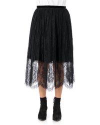 Vivetta Lace Skirt - Noir